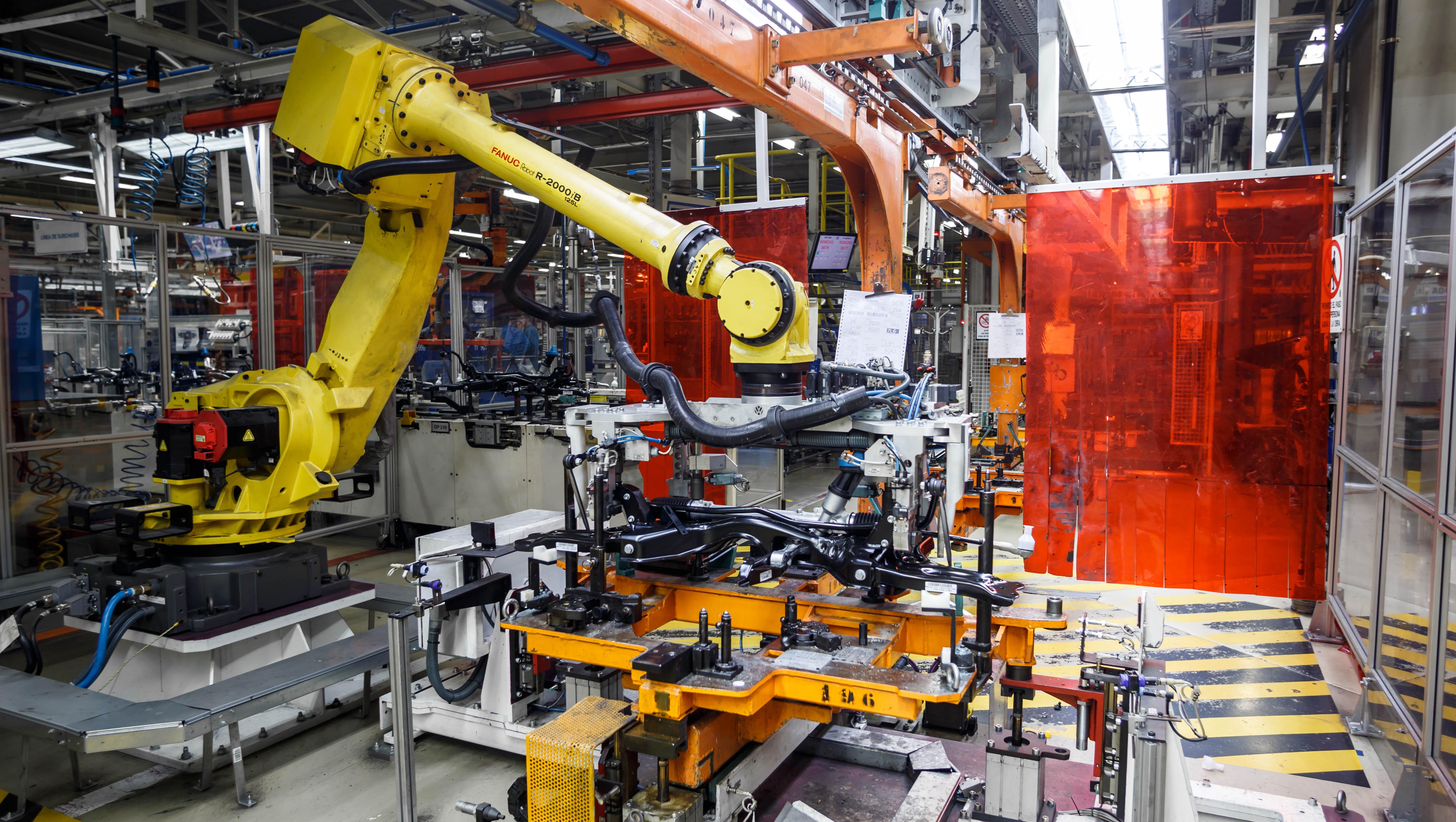 6. Robot de trasvase del conjunto subchasis