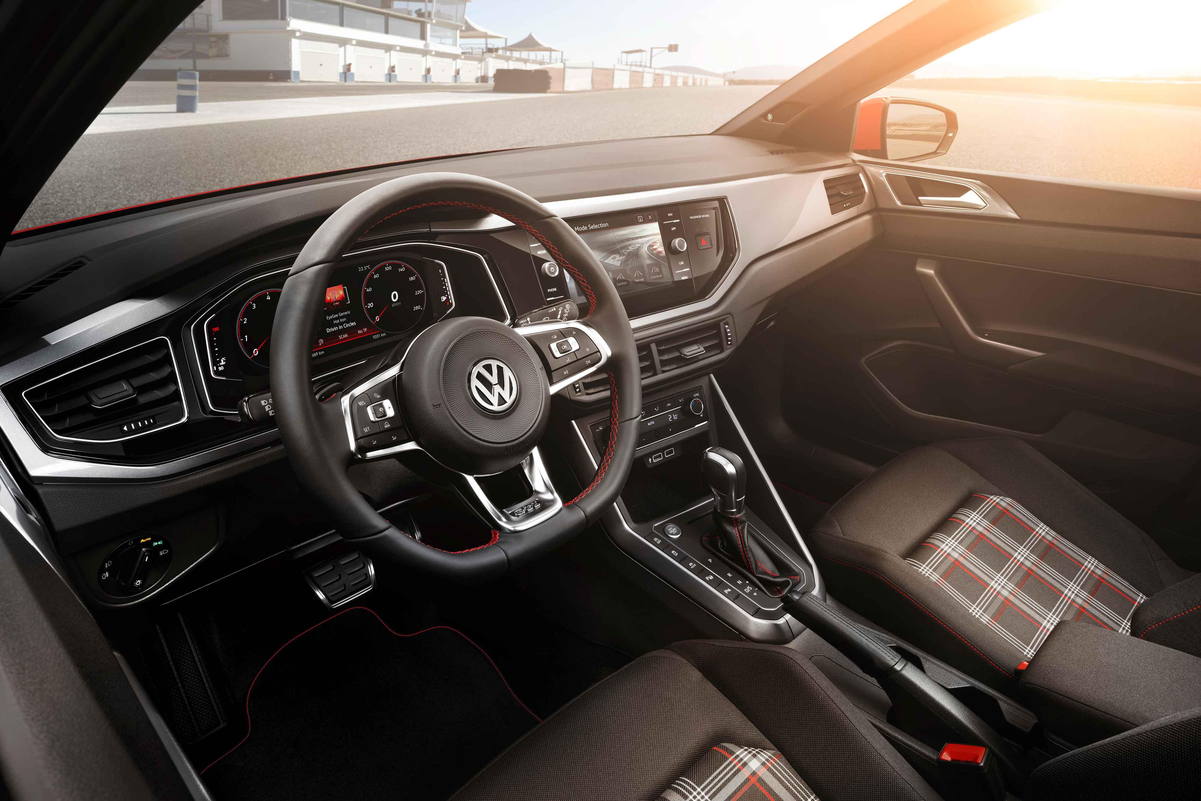 Interior del nuevo Volkswagen Polo GTI