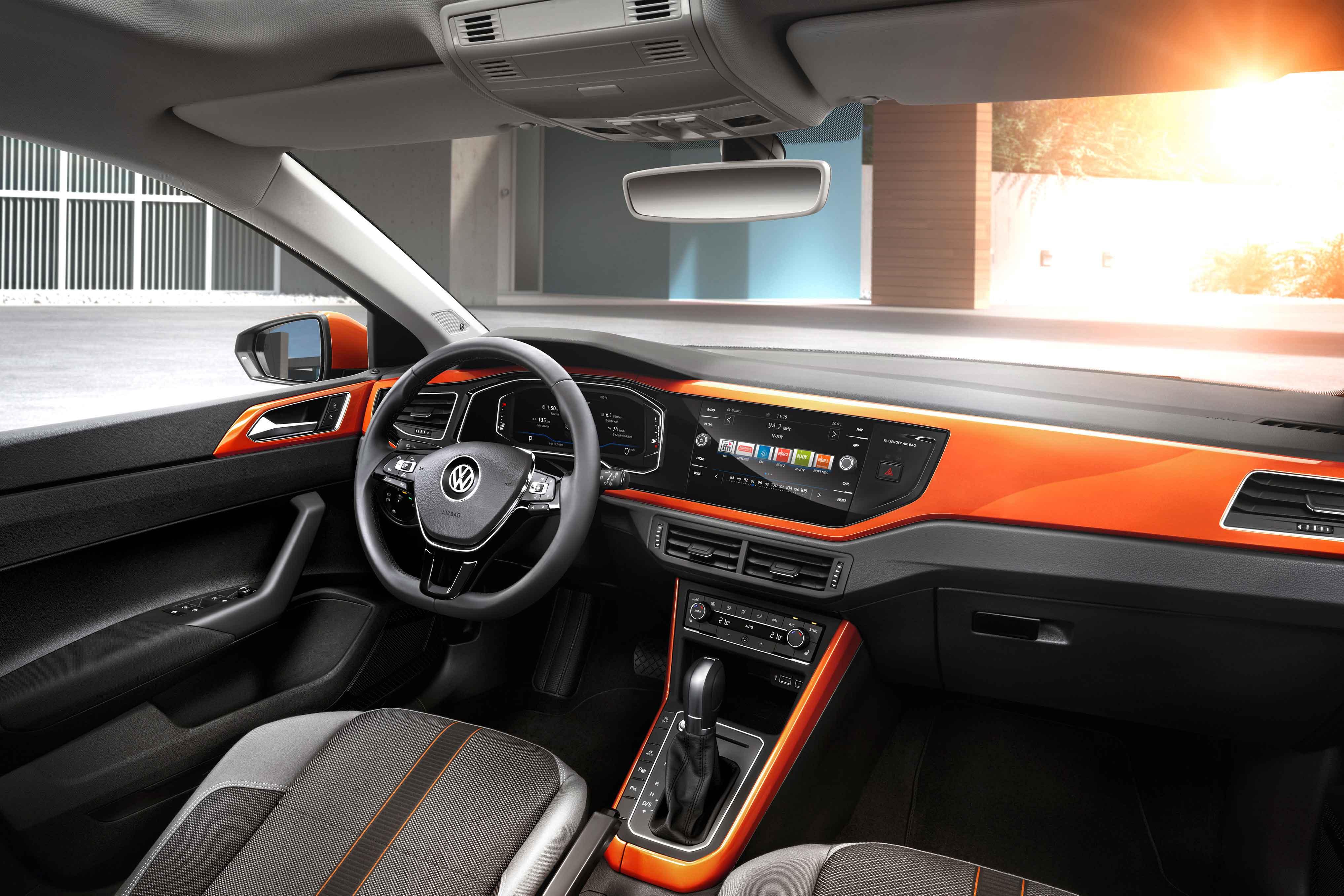Interior del nuevo Volkswagen Polo R-Line