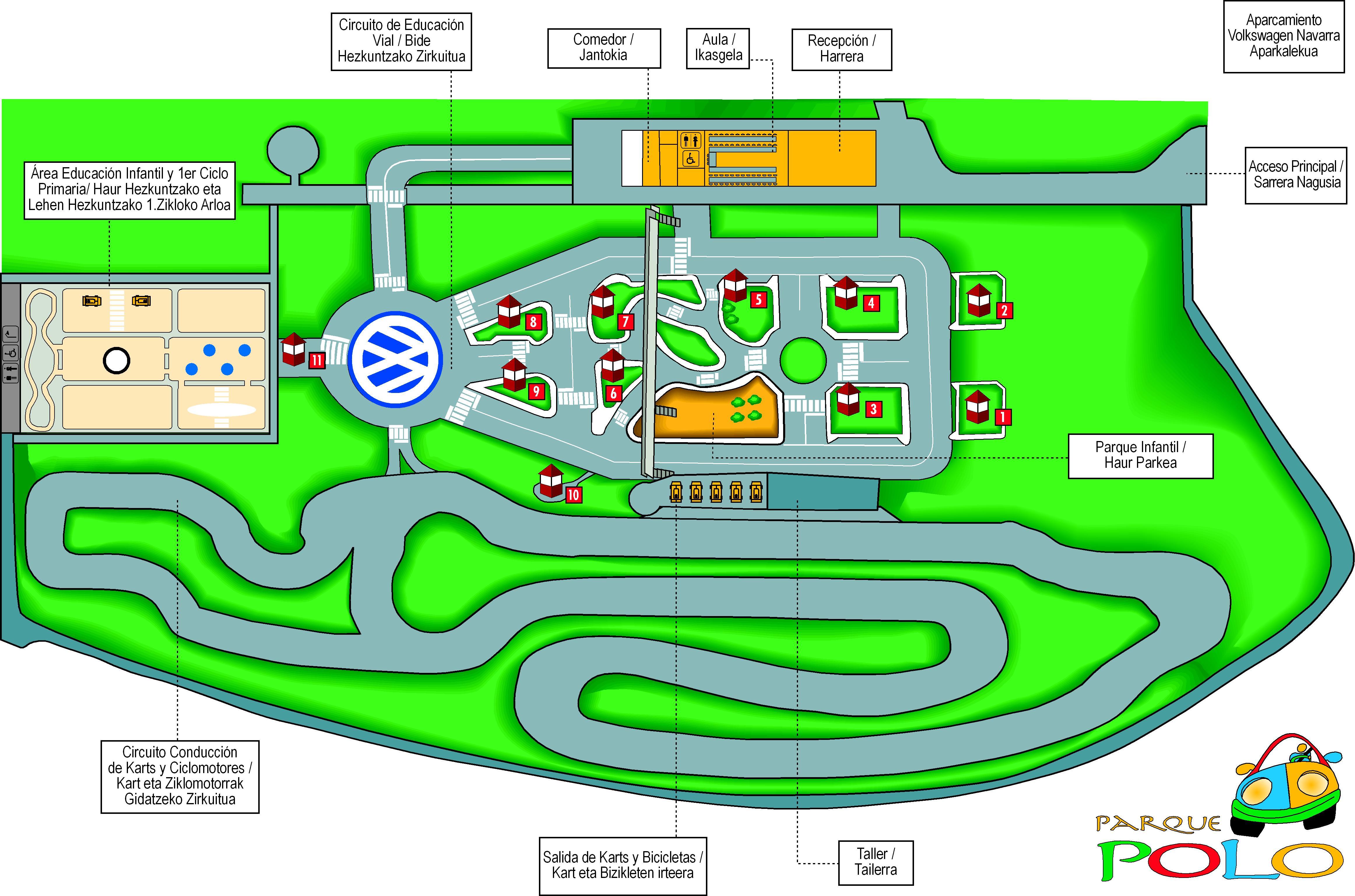 Circuito Navarra : Parque polo volkswagen navarra